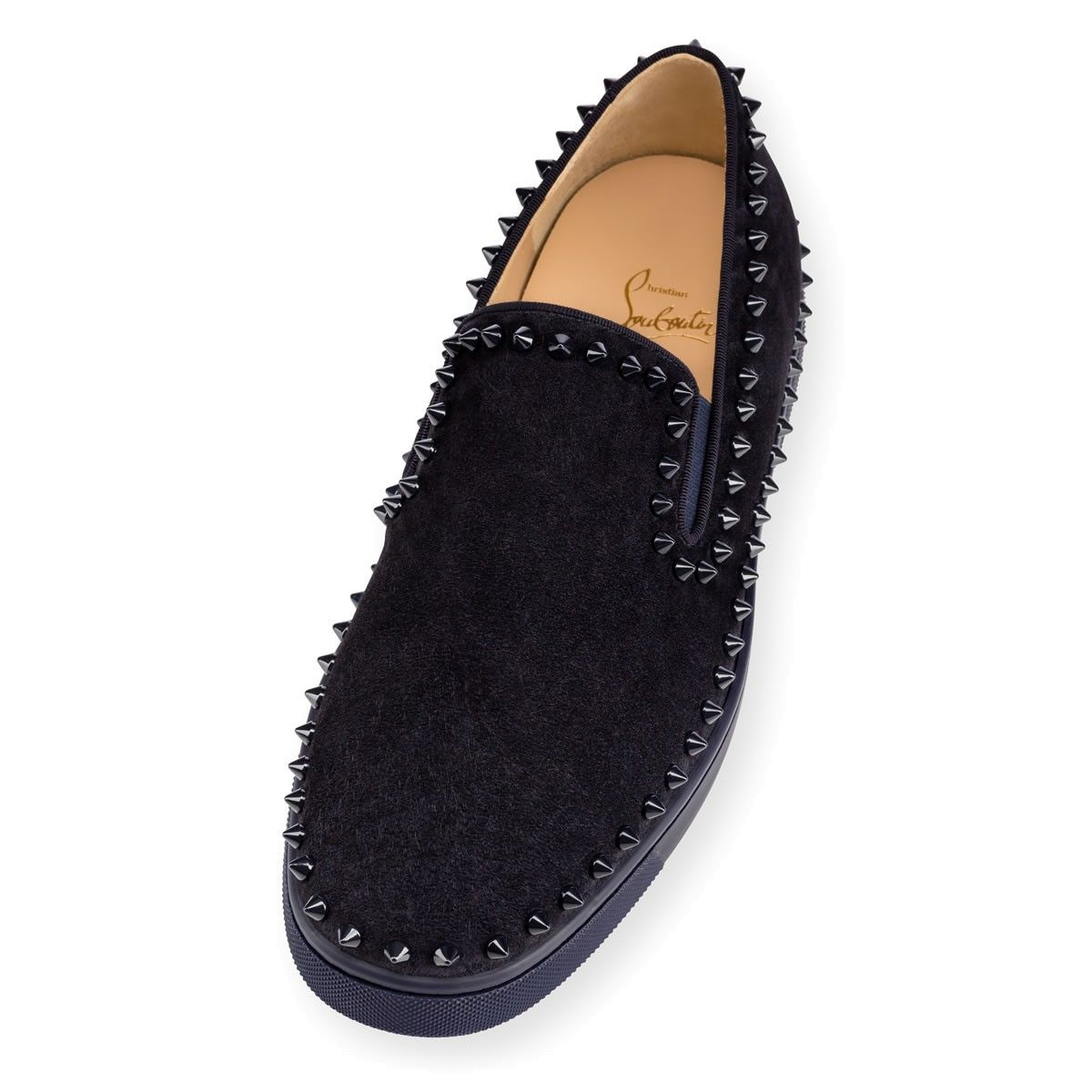 Men Shoes - Pik Boat Flat Veau Velours