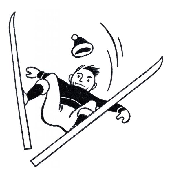 Funny Retro Skiing Clipart The Graphics Fairy Vintage Ski Posters Clip Art Retro Illustration