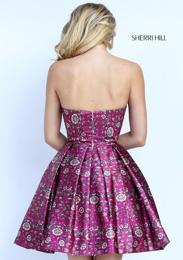 50795 - SHERRI HILL | Sherri Hill ❤ | Pinterest | Vestidos cortos ...