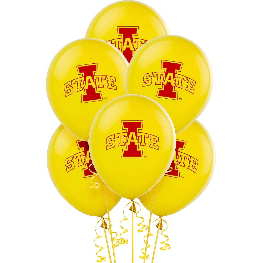 Iowa State Cyclones Balloons 10ct Iowa state cyclones
