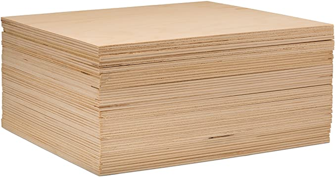 Amazon Com 3 Mm 1 8 X 8 X 8 Inch Premium Baltic Birch Plywood Box Of 16 Flat B Bb Grade Birch Veneer Sheets Perfect In 2020 Baltic Birch Plywood Birch Plywood Wood