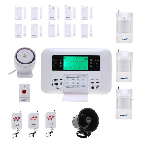 Fortress Security Store Tm Gsm B Wireless Cellular Gsm Home Security Alarm System Auto Home Security Alarm Home Security Alarm System Alarm Systems For Home