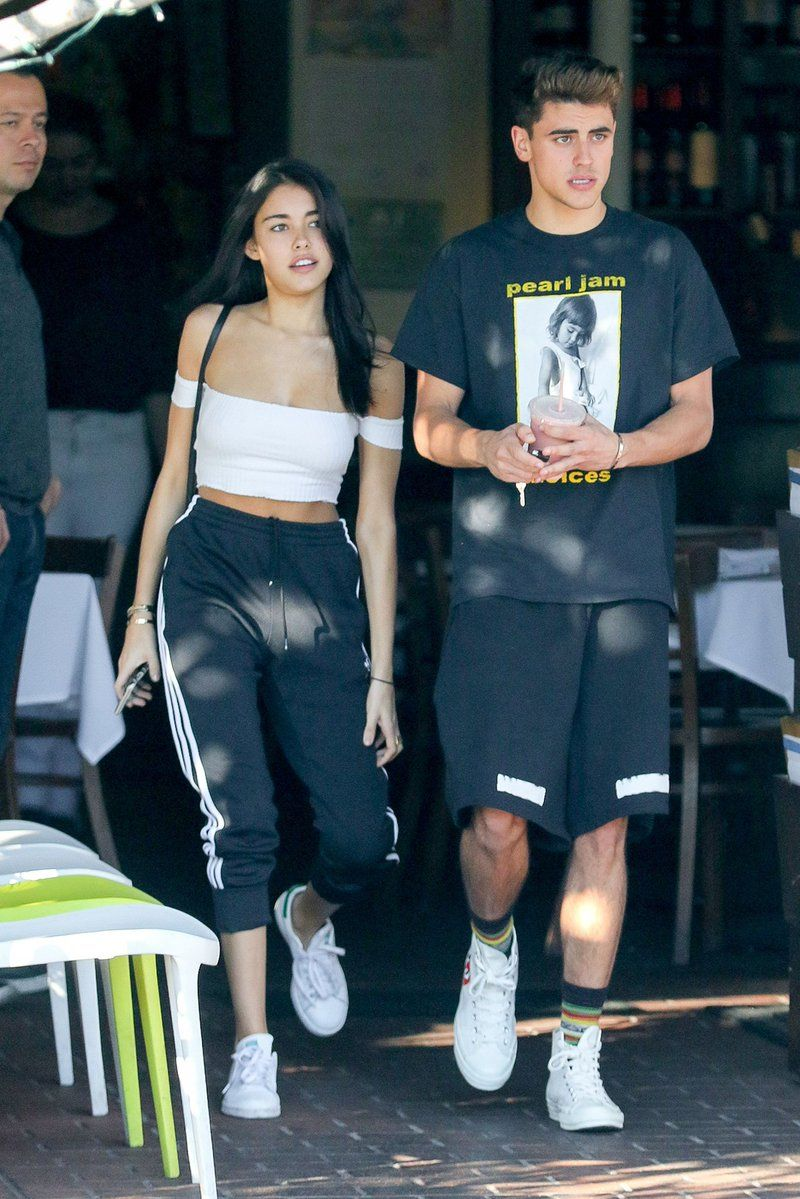 Madison Beer and Jack Gilinsky grab lunch at Mauro's In West ...