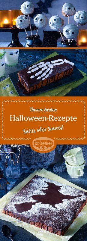 Halloween-Party-Rezepte - Tolle Ideen von Dr. Oetker