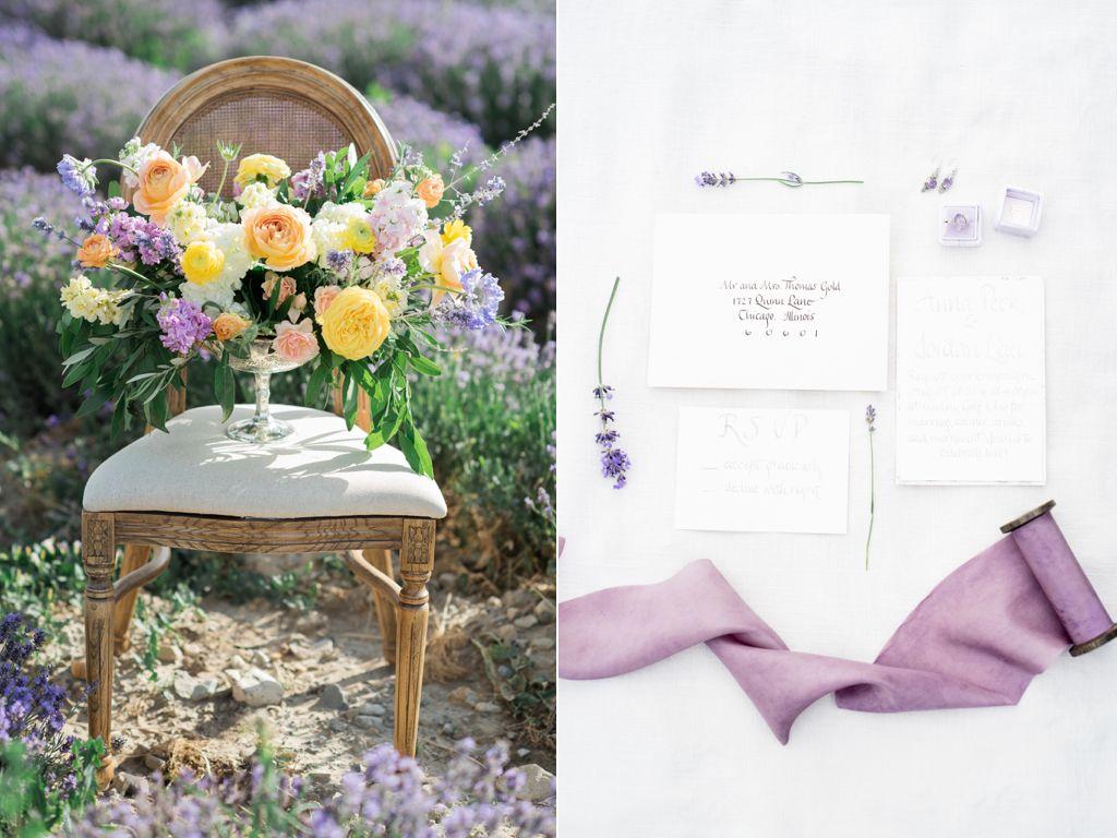 South of France Wedding, lavender field wedding, lavender wedding ...