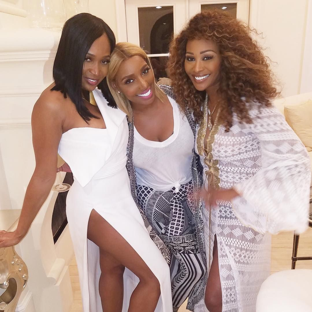 Cynthia Bailey and NeNe Leakes Go Blonde and Look Like