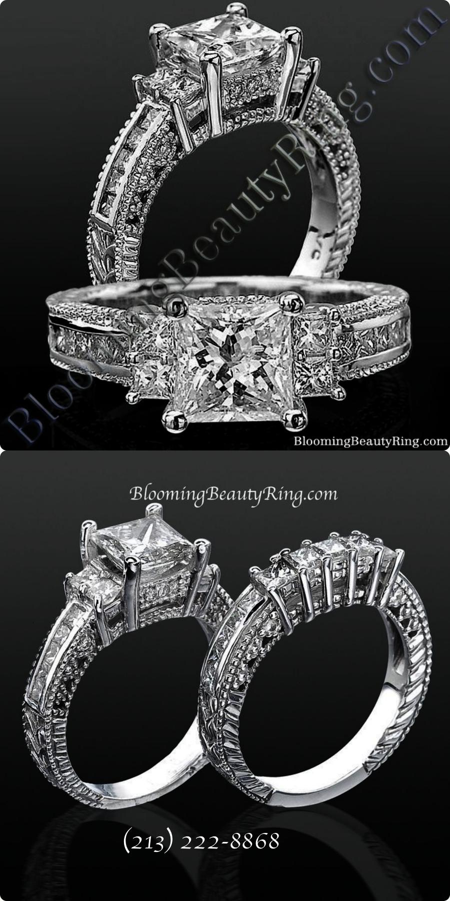 Amazing ueue emerald wedding rings meaning super lovely diamond