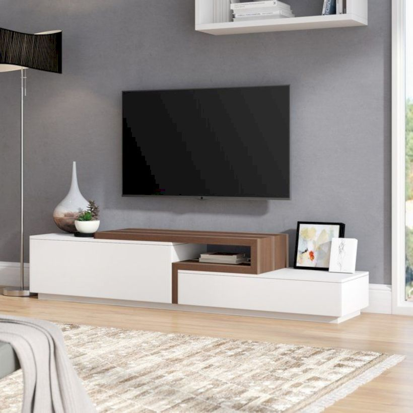 Nice 49 Fabulous Tv Stand Decor Ideas For Living Room More At Https Decoratrend Com 2019 04 Living Room Tv Stand Tv Stand Decor Living Room Tv Unit Designs