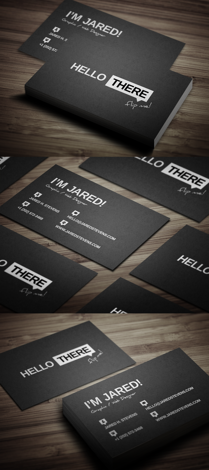 Creative Personal Business Card by FlowPixel.deviantart.com on ...