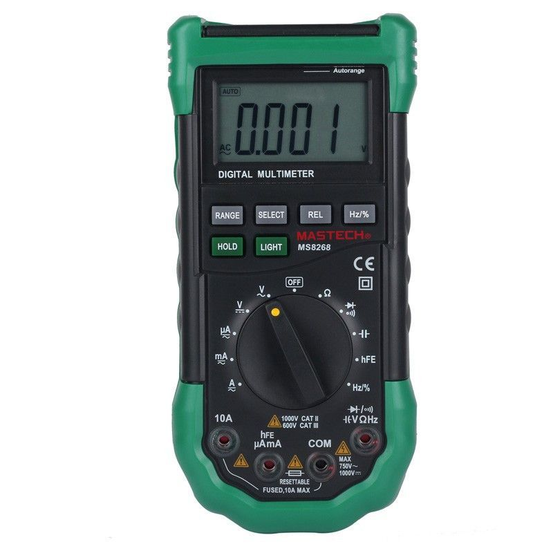 MASTECH MY64 AC DC Ohm Frequency Diode Auto Range Digital Multimeter
