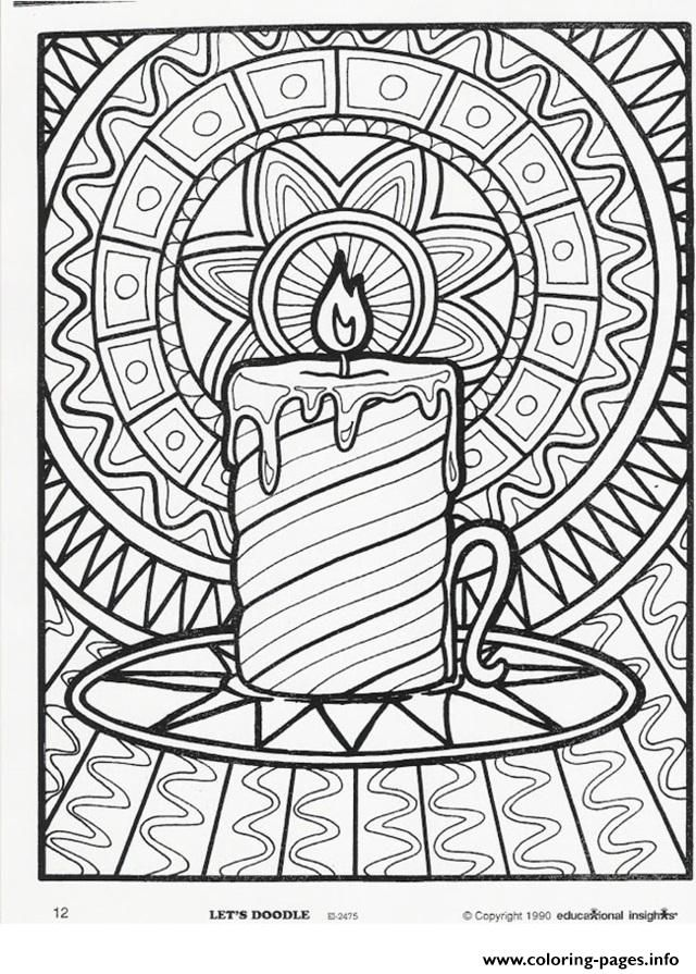 Print Christmas Adults Candle Coloring Pages Christmas Coloring Pages Free Christmas Coloring Pages Printable Christmas Coloring Pages