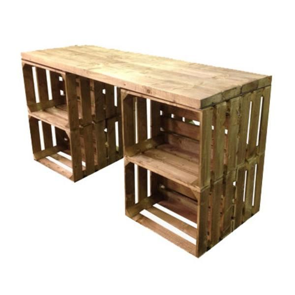 Apple Crate Desk - Free Delivery