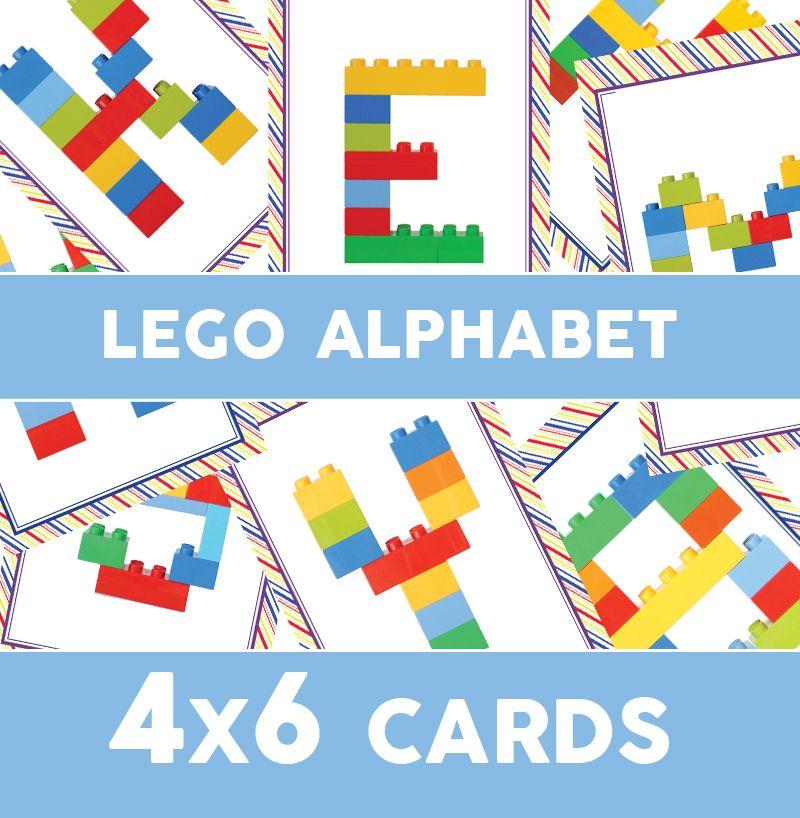Lego Duplo Alphabet Cards Printable Alphabet