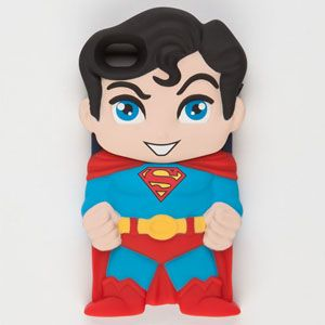 SO CUTE! DC Chara-Covers Superman iPhone 4/4S Case