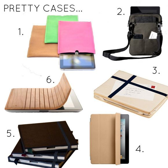 Great Ipad accessories- LOVE / WANT!!! Have #4 already, love it : )