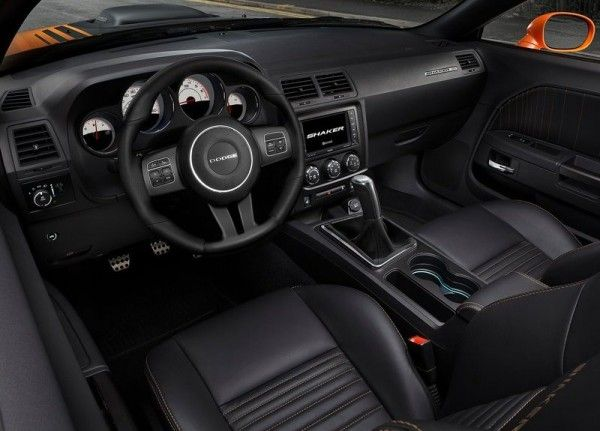 Beautiful 2014 Dodge Challenger RT Shaker Elegant Interior 600x431 2014 Dodge  Challenger RT Shaker Idea