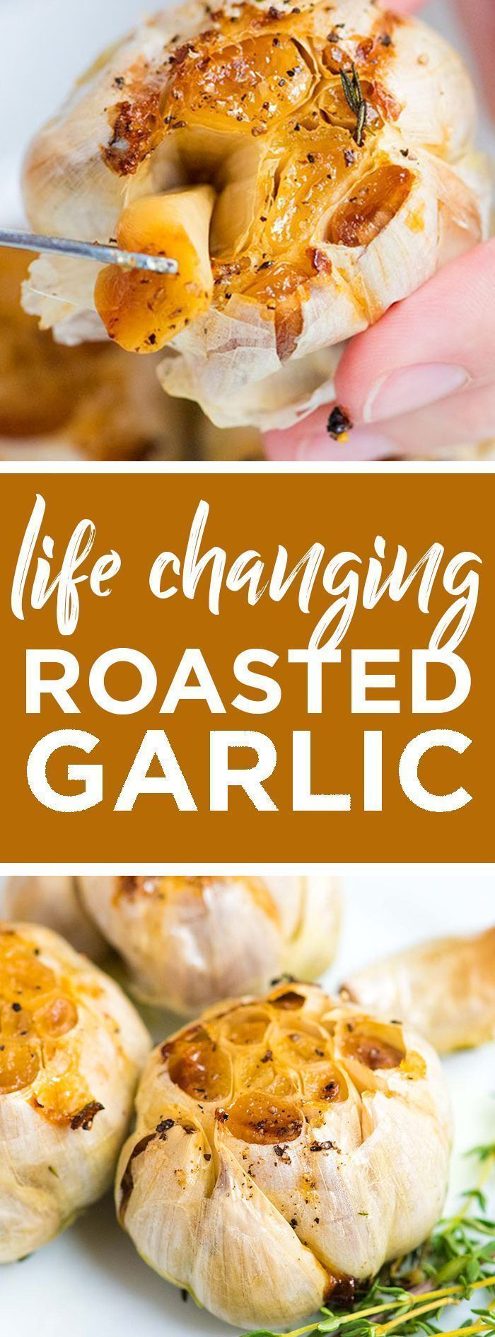 Life-Changing Roasted Garlic Recipe -- Roasted garlic is one of the best things ...   - Vegetarian and Vegan Recipes -