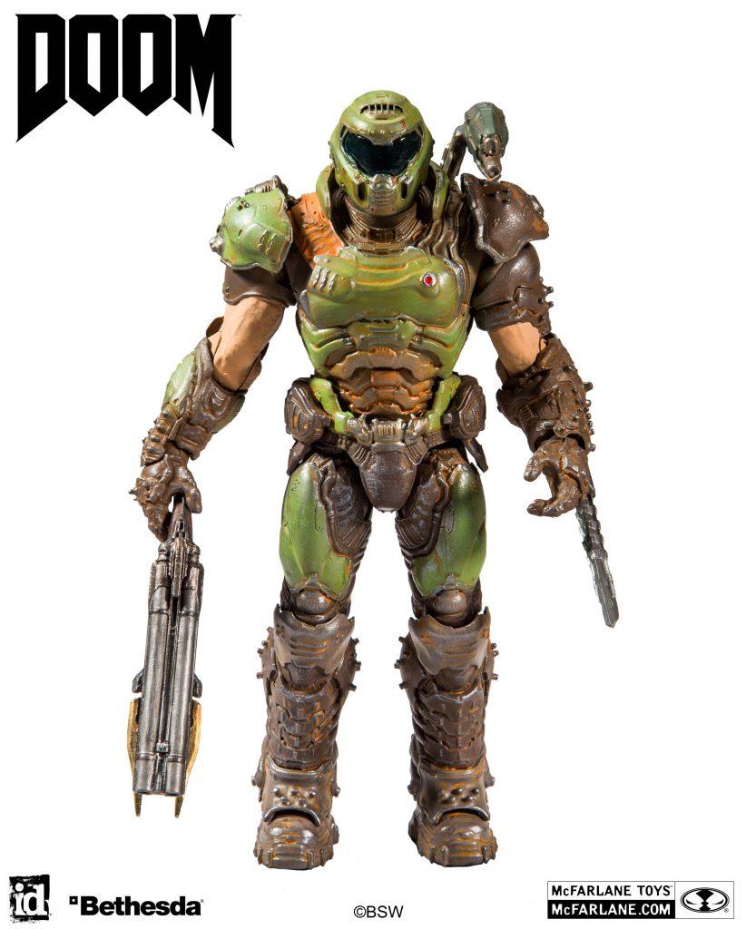 More Details On Mcfarlane Toys Doom Slayer Action Figure Fury Action Figures Mcfarlane Toys Doom