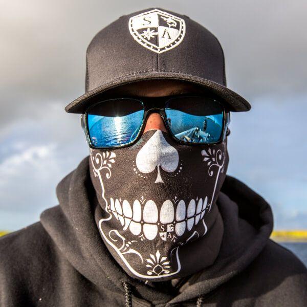 Salt Armour SA Company Face Shield Sun Mask Balaclava Neck Gaiter Bandana USA