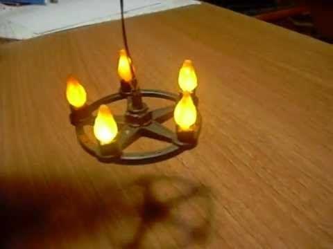 73a2ecb2aab Lámpara efecto fuego para Playmobil - La mesa del café