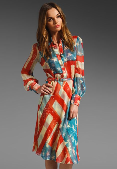 4th of July Fashion - Red, White, Blue Clothing