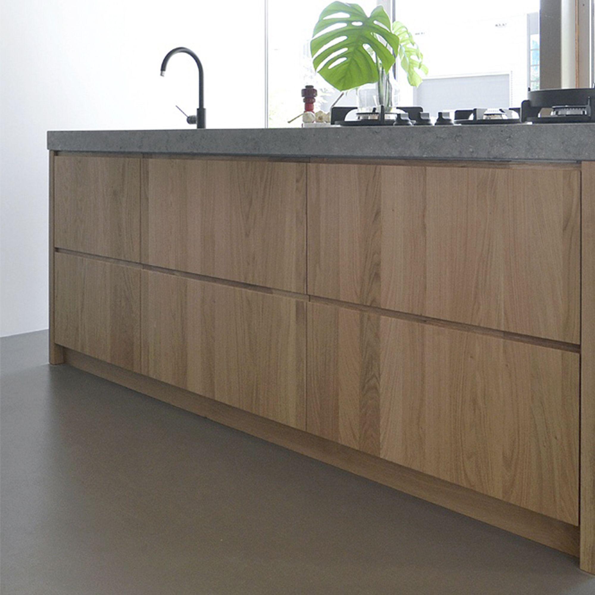 Keukenfronten Op Maat Voor Oa Ikea Metod Kvik Siematic Of Andere Nieuwe En Bestaande Keukenmerken Een Subtie Keuken Ontwerp Keuken Hout Beton Houten Keuken