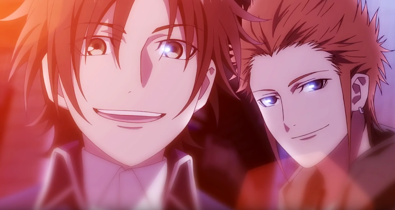 Hidaka Akira and Fujishima Kōsuke Return of kings, K