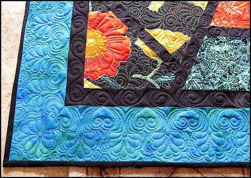 https://flic.kr/p/4XvXwz | poppyfinished | Close up of  the poppy quilt by Carla…