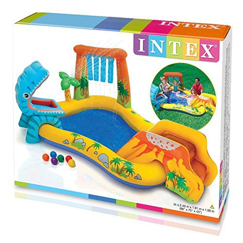 Intex 57444ep Dinosaur Play Center Toys 4 My Kids Dinosaur Play Kids Backyard Fun Play Centre