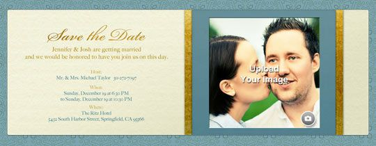 Where to do online save the date evites