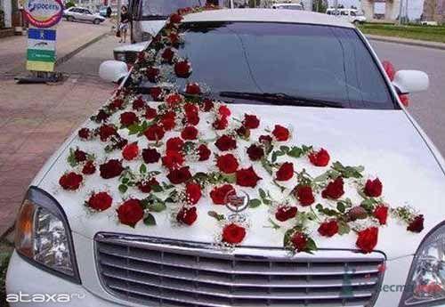 Stylish Wedding Car Decoration