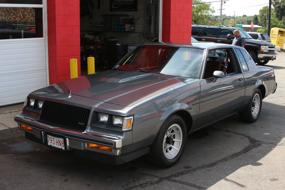 1987 Buick Regal Coupe Turbo | 80s cars for sale | Pinterest | Buick ...