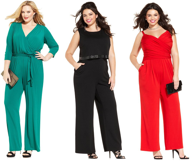 360708835f0 Shapely Chic Sheri  12 Plus Size Jumpsuits for the Holidays