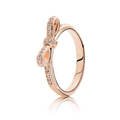 anello corona pandora oro