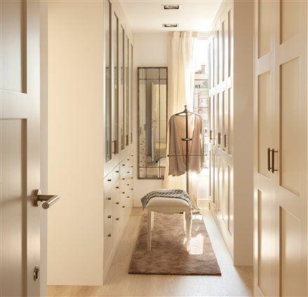 Crea tu armario ideal y suma orden pasillos armario y for Armario estrecho bano