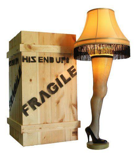 Fra Gee Lay Christmas Story Leg Lamp Leg Lamp A Christmas Story