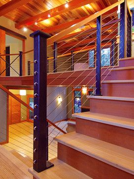 Interiors - modern - staircase - seattle - by Feeney Inc ...