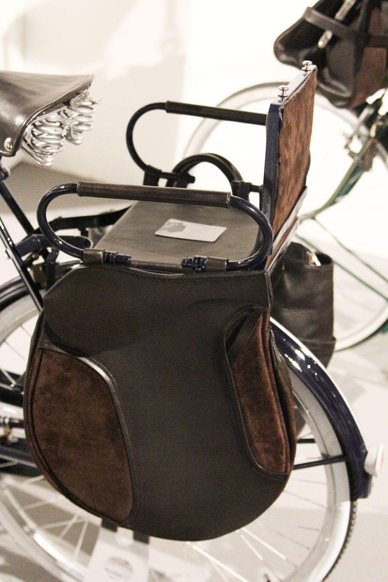 Cool Saddlebags Baby Seat Combo For Your Bike Bike Bag Cool Bike Accessories Urban Bike