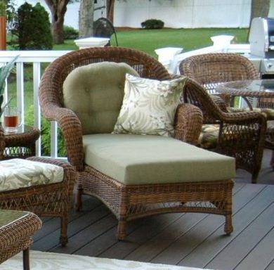 Super Resin Wicker Patio Furniture Chaise Lounges Ideas #resinpatiofurniture Sup..., #Chaise...