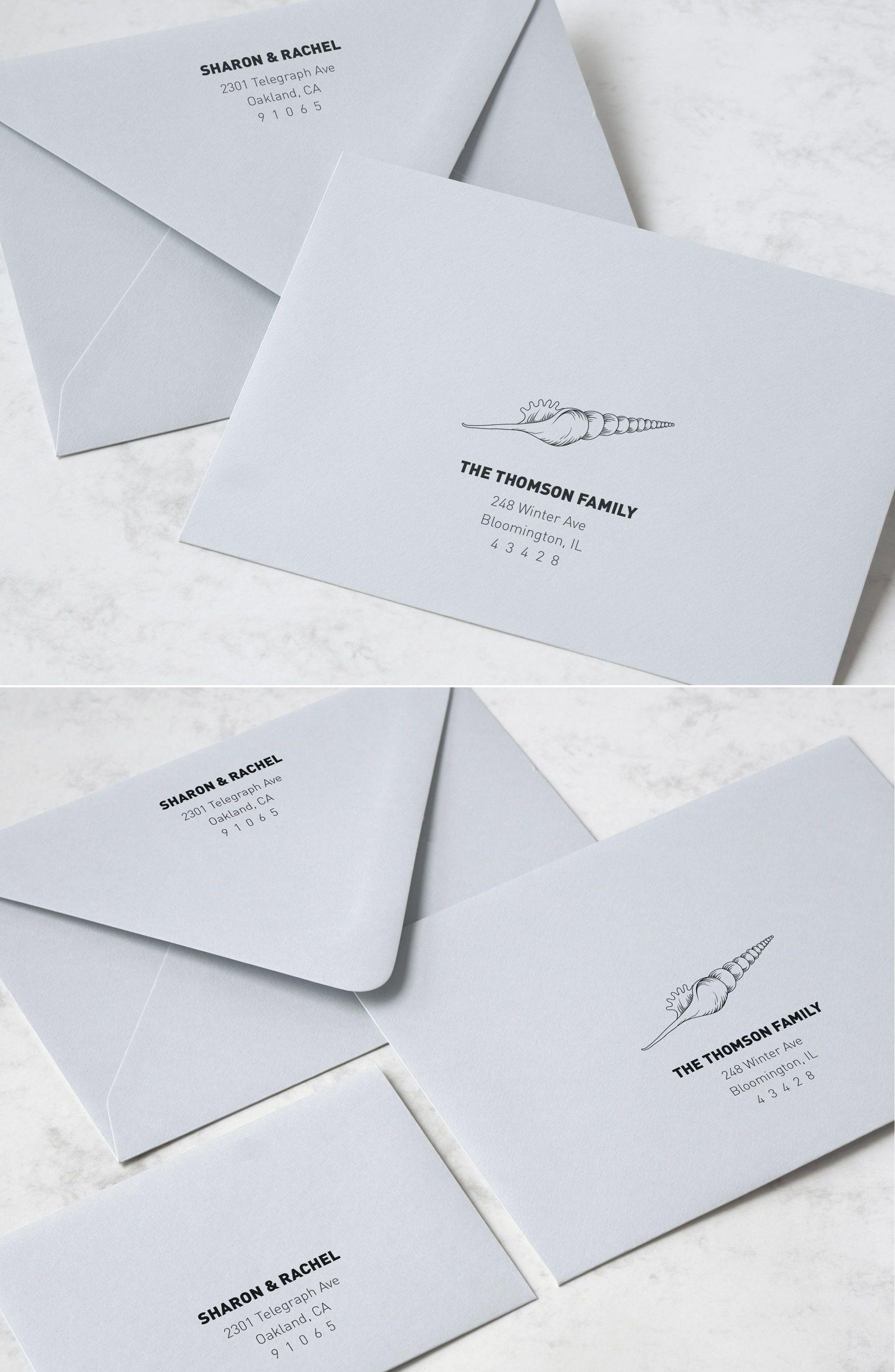 Beach Wedding Envelope Addressing Template For Your Wedding Invitations Wedding Invitation Envelopes Envelope Addressing Template Addressing Envelopes Wedding