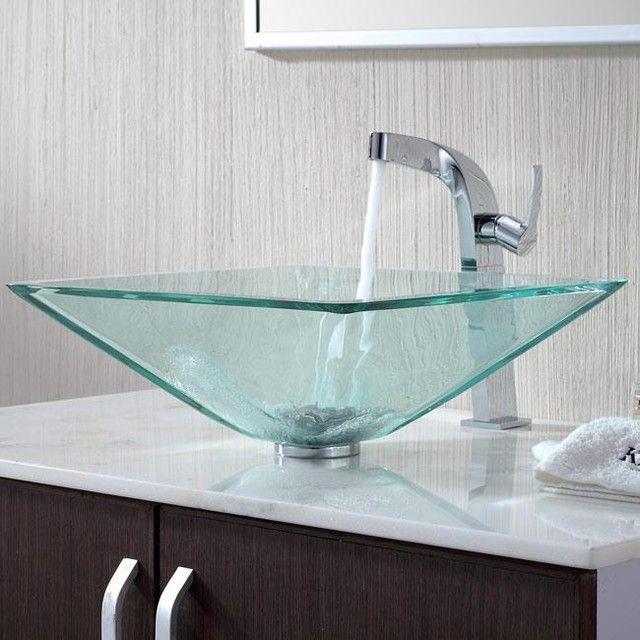 Como Escolher Pia Ideal Para Banheiro Modern Bathroom Sinkglass