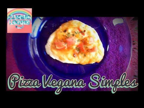 Papo Comida: Pizza vegana simples