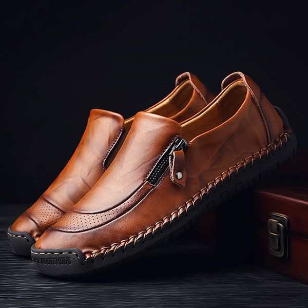 2953f8c90 High-quality Menico Menico Men Hand Stitching Soft Outdoor Closed Toe  Leather Sandals - NewChic Mobile