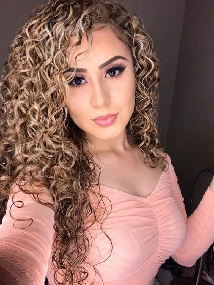 Color😍   Curly hair styles, Party hairstyles for long hair ...