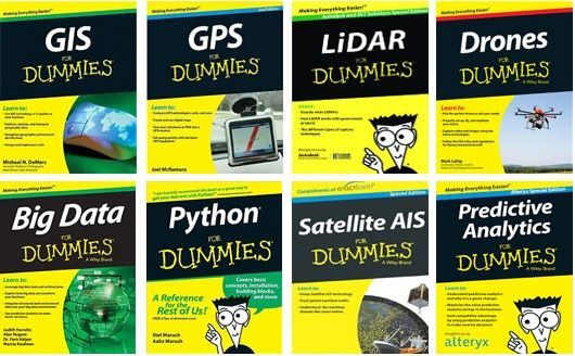 10 Geospatial E-books for Dummies to download