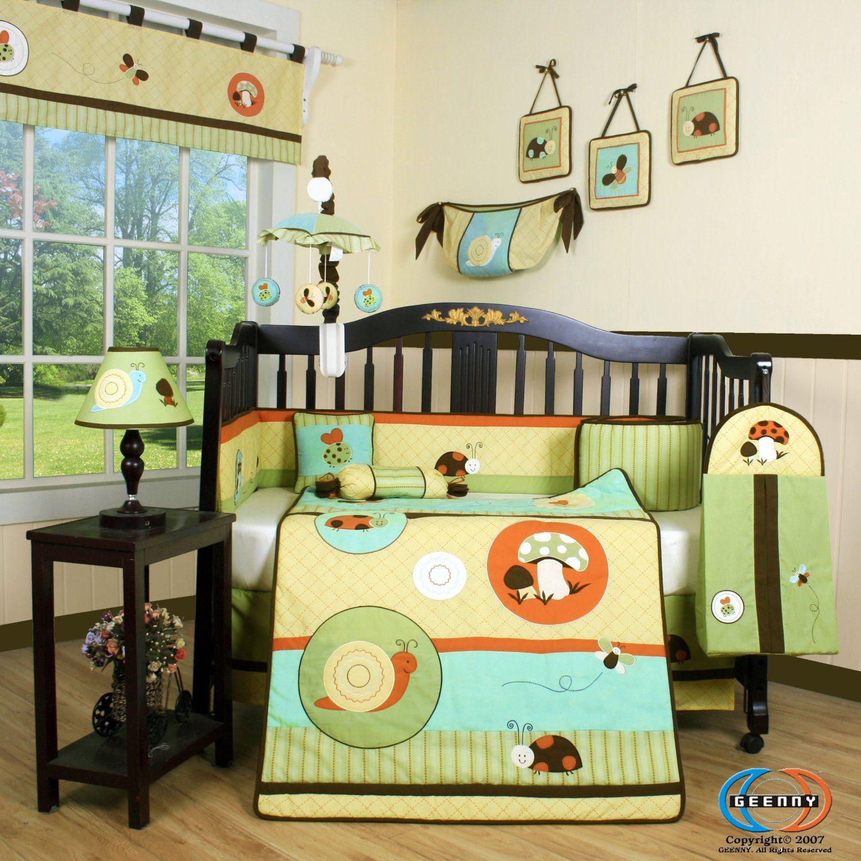 Geenny Boutique Garden Paradise Baby Bedding Collection | Bedding ...
