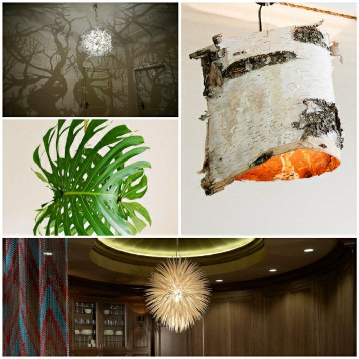 ausgefallene lampen designer lampen dekoideen wohnzimmer Lichter
