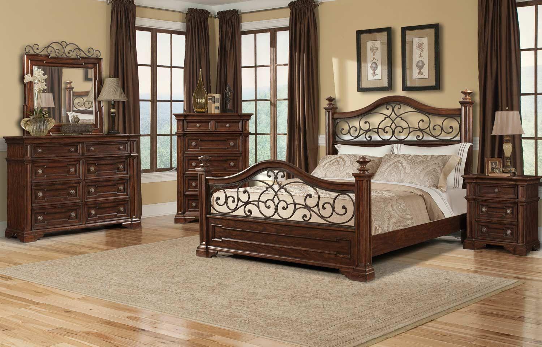 Klaussner San Marcos Bedroom Collection Master bedroom