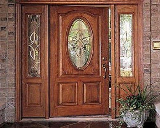 Pin by consuelo lopez on mi casa in 2019 puertas de for Puertas en madera entrada principal