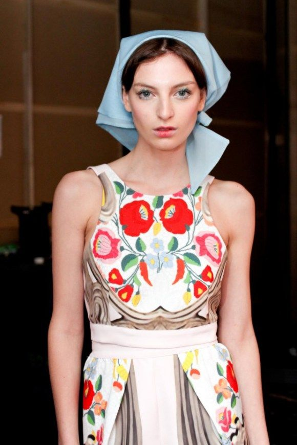 Alice McCall's babushka collection .. all Clevelanders ...